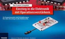 Lernpaket Einstieg in die Elektronik mit Operationsverstärker