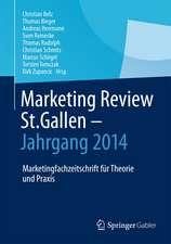 Marketing Review St. Gallen - Jahrgang 2014: Marketingfachzeitschrift für Theorie und Praxis