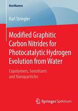 Modified Graphitic Carbon Nitrides for Photocatalytic Hydrogen Evolution from Water: Copolymers, Sensitizers and Nanoparticles