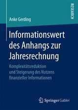 Informationswert des Anhangs zur Jahresrechnung: Komplexitätsreduktion und Steigerung des Nutzens finanzieller Informationen