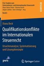 Qualifikationskonflikte im Internationalen Steuerrecht