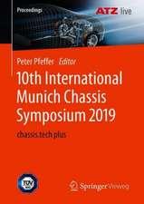 10th International Munich Chassis Symposium 2019