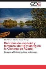 Distribucion Espacial y Temporal de Hg y Mehg En La Cienaga de Ayapel:  El USO de Indicadores