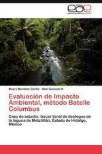 Evaluacion de Impacto Ambiental, Metodo Batelle Columbus:  Psicodinamica y Conductismo
