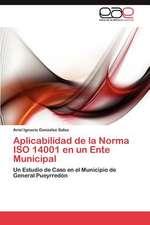 Aplicabilidad de La Norma ISO 14001 En Un Ente Municipal:  Tecnicas Participativas Para Su Mejora