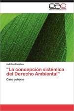 """""""La Concepcion Sistemica del Derecho Ambiental"""":  Un Espacio de Necesidades y Practicas."""