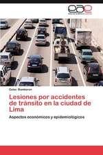 Lesiones Por Accidentes de Transito En La Ciudad de Lima