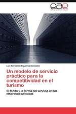Un Modelo de Servicio Practico Para La Competitividad En El Turismo:  Anesthsom