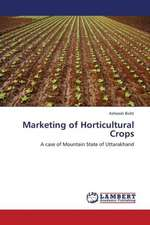 Marketing of Horticultural Crops