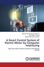 A Smart Control System of Electric Motor by Computer Interfacing