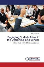 Engaging Stakeholders in the Designing of a Service