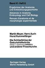 Die Schlüpfdrüse der Geburtshelferkröte (Alytes o. obstetricans [LAURENTI]) und anderer Froschlurche
