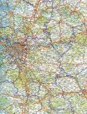Frankreich 1 : 800 000 Autolarte