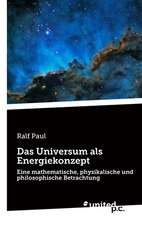 Das Universum ALS Energiekonzept:  Better Results