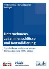 Unternehmenszusammenschlüsse und Konsolidierung