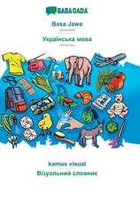 BABADADA, Basa Jawa - Ukrainian (in cyrillic script), kamus visual - visual dictionary (in cyrillic script)
