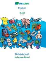 BABADADA, Deutsch - Kurdî, Bildwörterbuch - ferhenga dîtbarî