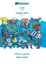 BABADADA, Marathi (in devanagari script) - magyar nyelv, visual dictionary (in devanagari script) - képes szótár