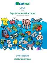 BABADADA, Hindi (in devanagari script) - Español de América Latina, visual dictionary (in devanagari script) - diccionario visual