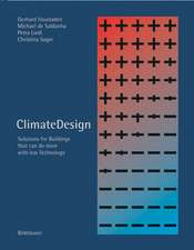 ClimateDesign: Solutions for Buildings that Can Do More with Less Technology