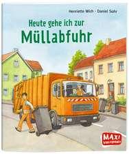 Heute gehe ich zur Müllabfuhr - Maxi