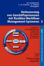 Verbesserung von Geschäftsprozessen mit flexiblen Workflow-Management-Systemen 3: Erfahrungen mit Implementierung, Probebetrieb und Nutzung von Workflow-Management-Anwendungen