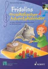 Bucher: Fridolins musik. Adventsk./inkl.CD