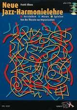 Neue Jazz-Harmonielehre:  Von der Theorie Zur Improvisation [With 2 CDs]