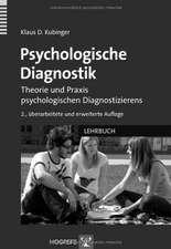 Psychologische Diagnostik