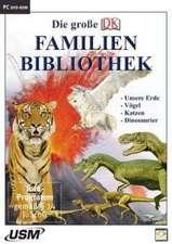 Die große Dorling Kindersley Familienbibliothek - Unsere Erde, Katzen, Vögel und Dinosaurier. Windows Vista; XP; 2000; 98