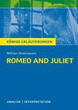 Romeo and Juliet - Romeo und Julia von Wiliam Shakespeare.