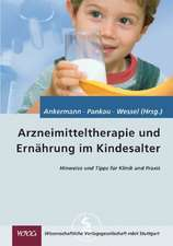 Arzneimitteltherapie und Ernährung im Kindesalter