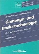 Gemenge- und Dosiertechnologie
