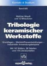 Tribologie keramischer Werkstoffe