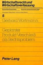 Geplanter Produkt-Verschleiss ALS Rechtsproblem:  Zielkonflikte Um Das Berliner Schulwesen 1951-1968
