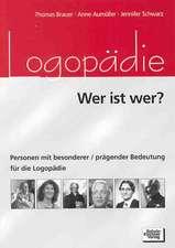 Logopädie - Wer ist wer?