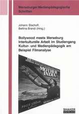 Bollywood meets Merseburg Interkulturelle Arbeit im Studiengang Kultur- und Medienpädagogik am Beispiel Filmanalyse