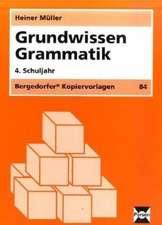 Grundwissen Grammatik. 4. Schuljahr