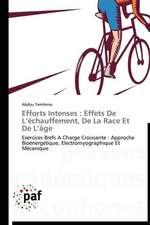 Efforts Intenses : Effets De L'échauffement, De La Race Et De L'âge