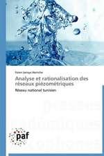 Analyse et rationalisation des réseaux piézométriques