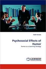 Psychosocial Effects of Humor
