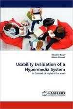 Usability Evaluation of a Hypermedia System