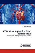 AT1a mRNA expression in rat cardiac tissue