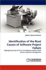 Identification of the Root Causes of Software Project Failure