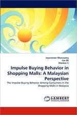 Munusamy, J: Impulse Buying Behavior in Shopping Malls: A Ma