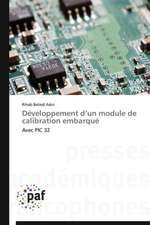 Développement d'un module de calibration embarqué