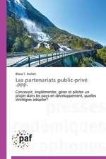 Les partenariats public-privé -PPP-