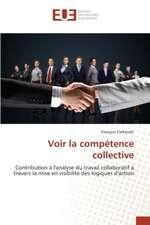 Voir La Competence Collective