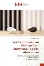 Les Transformations D'Entreprises