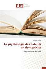 La Psychologie Des Enfants En Domesticite:  Le Cas de Figuig